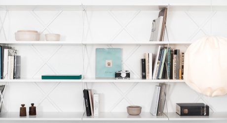 Lift Shelving System by Staffan Holm for One Nordic