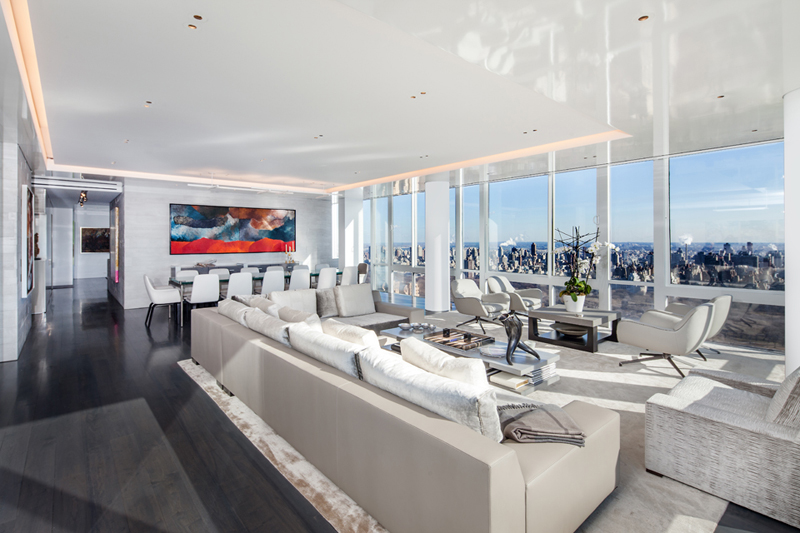 Upper West Side Penthouse by TCA