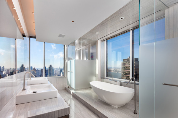Upper West Side Penthouse by TCA in main interior design architecture  Category