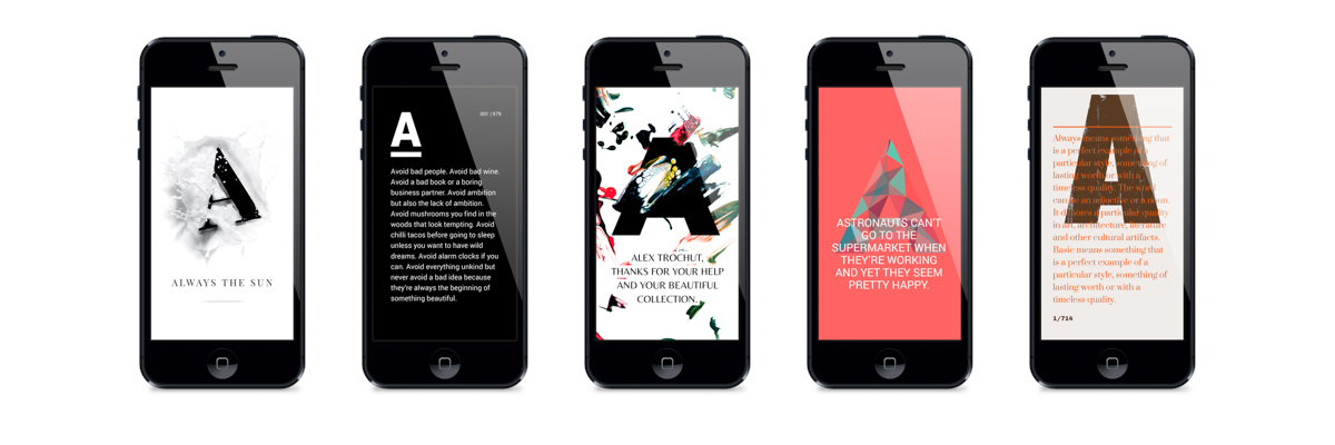 Notegraphy Turns Any Text Into Modern Graphic Design