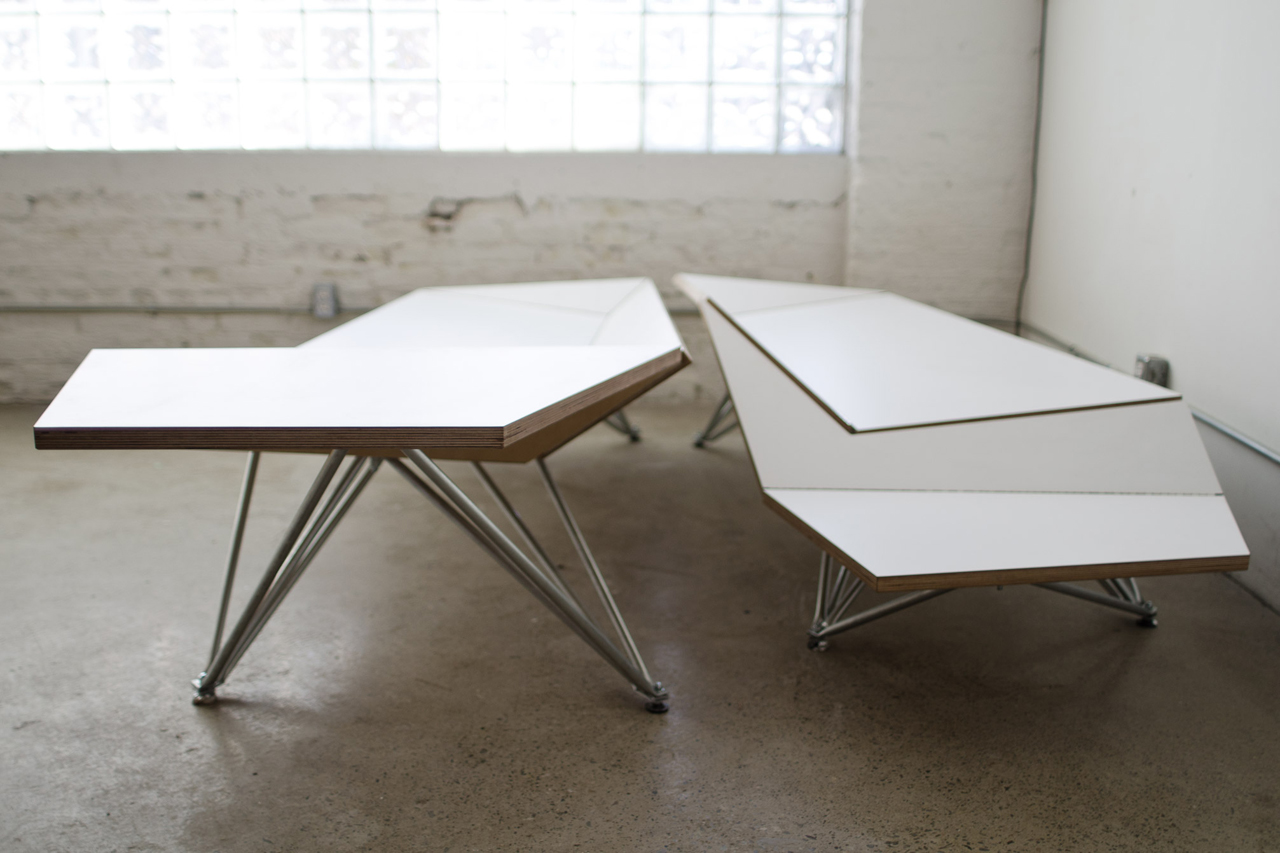 Origami bench by blacklab architects design milk origami bench by blacklab architects jeuxipadfo Gallery