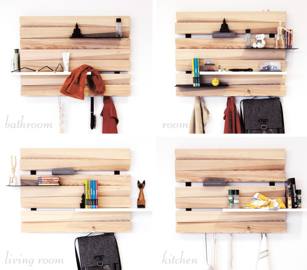 REMLshelf: Artistic Wood Shelving in home furnishings Category