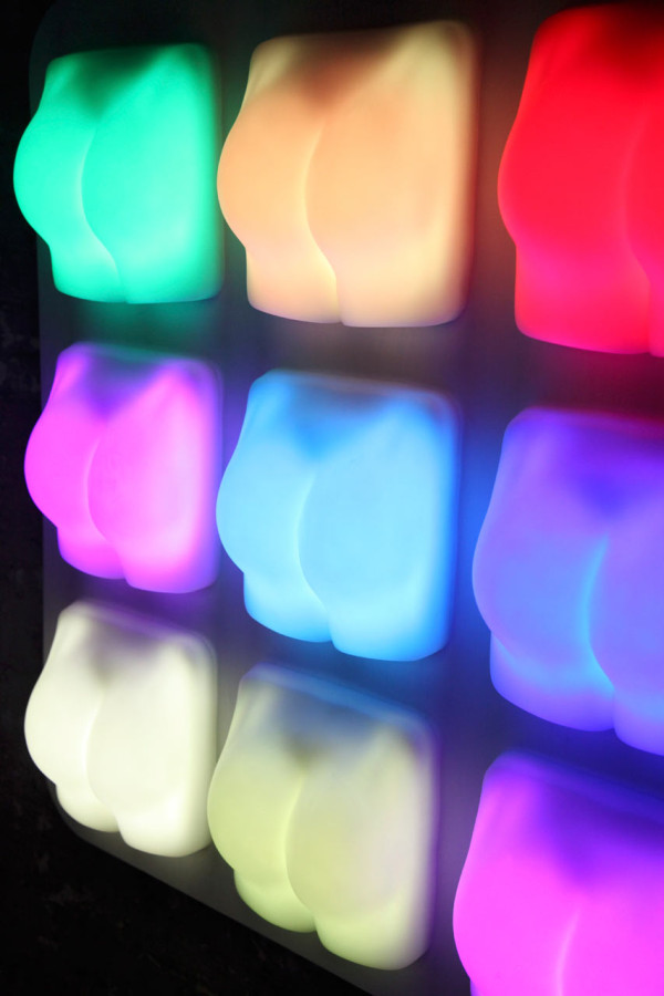 Slap It: Cheeky Interactive Lights by Joseph Begley in technology home furnishings art Category