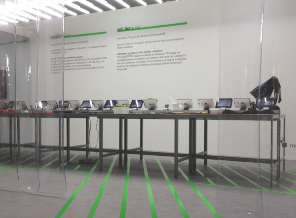Solutions: A Curated Exhibition at Ambiente in technology main home furnishings  Category