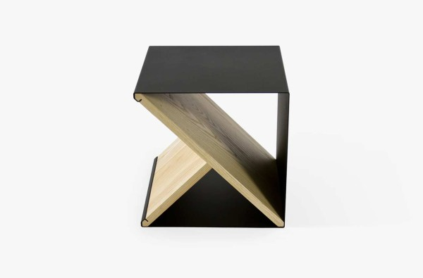 A Steel Stool With Multiple Uses by Noon Studio
