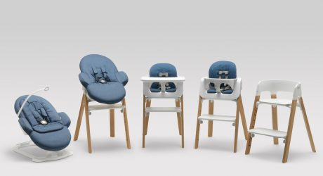 Modular Children's Seating by Permafrost for Stokke