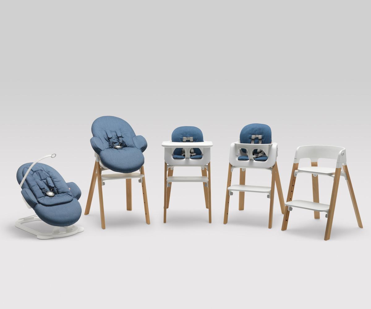 Modular Children's Seating by Permafrost for Stokke