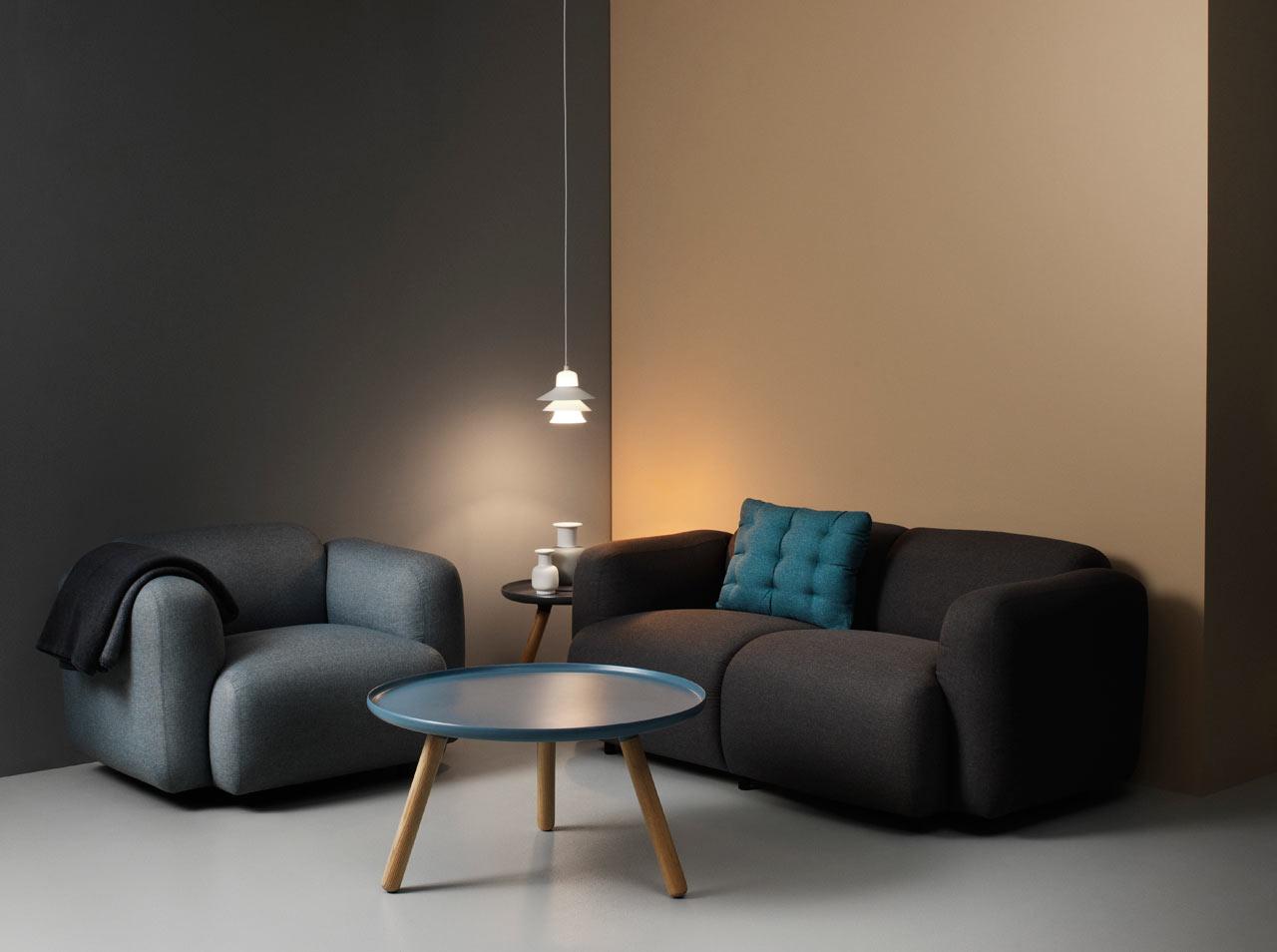 Normann Copenhagen's Swell Seating by Jonas Wagell