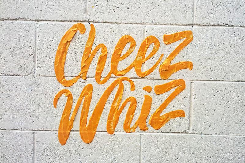 Household Brands Become Tasty Street Art