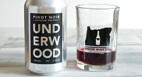 Union Wine Company's Wine in a Can