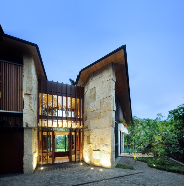 The Winged House by K2LD Architects in architecture Category