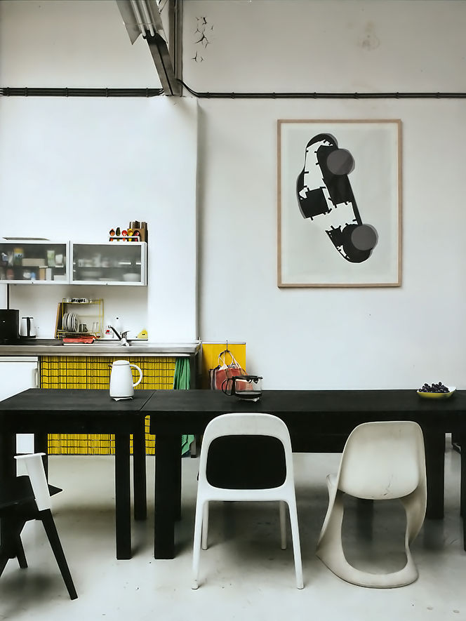 Art Work For Kitchen 12 Inspiring Ways To Hang Art In The Kitchen  Design Milk