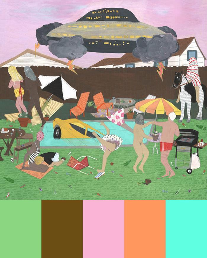 CMYLK: Andrea Joyce Heimer's Strange Suburbia