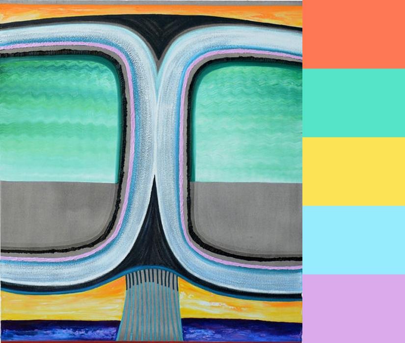 CMYLK: Clint Jukkala's Funky Eyeglass Paintings