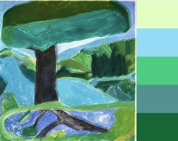 Julian Hattons Earthy Landscapes in main art  Category
