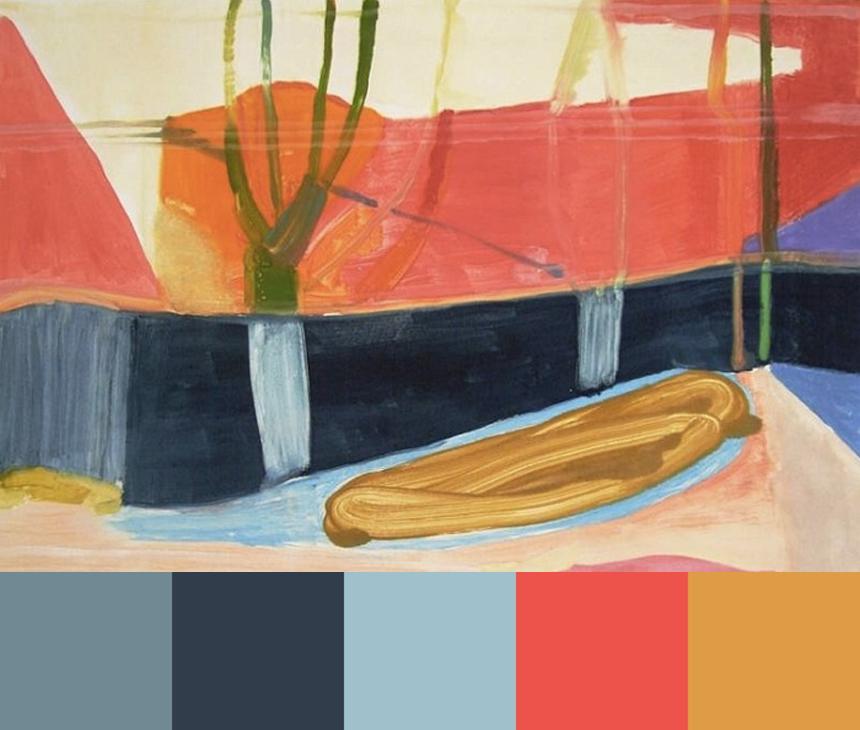Julian Hatton's Earthy Landscapes