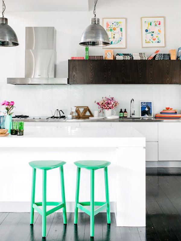 Art Work For Kitchen 12 Inspiring Ways To Hang Art In The Kitchen  Design Milk
