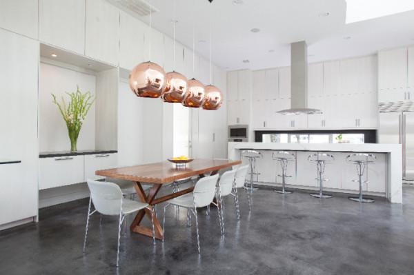 Copper Pednant Laurau Interior Design