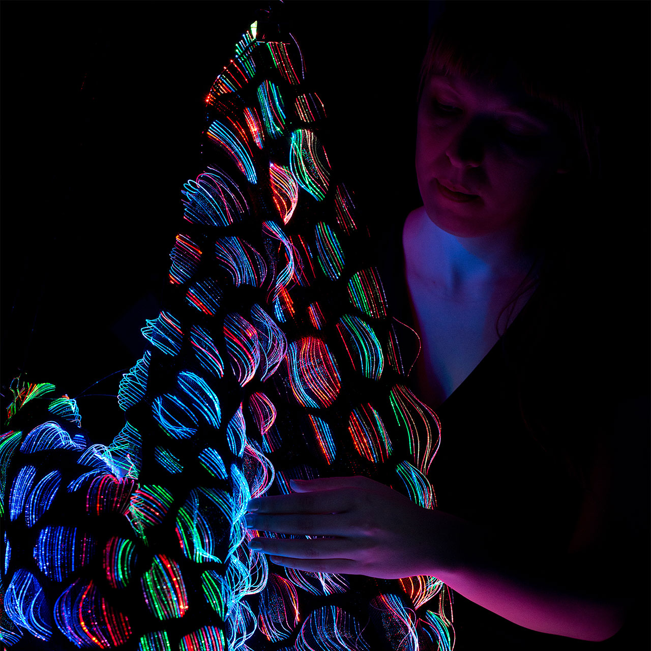 Woven Light: Swedish School of Textiles at Greenhouse