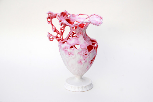 3D Printed Vase Created Using Object Oriented Design  in main home furnishings art  Category