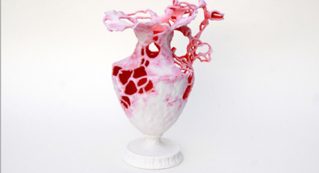 3D Printed Vase Created Using Object Oriented Design