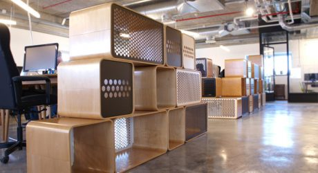 Berta & Honeycomb by Yuval Tal for Rack & Tack