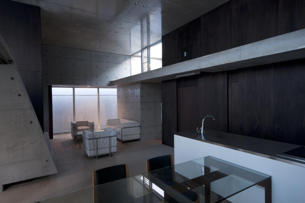 A Minimalist House with a Sleek Concrete Structure in main architecture  Category