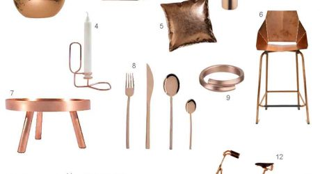 Roundup: 12 Modern Copper Accessories