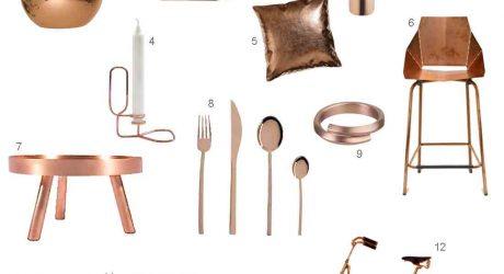 Roundup: 12 Modern Copper Accessories