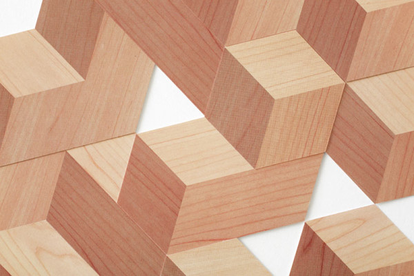 Paper Brick: A Set of Paper Blocks That Look 3D in style fashion Category