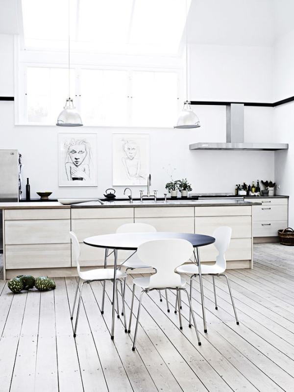 12 inspiring ways to hang art in the kitchen - design milk