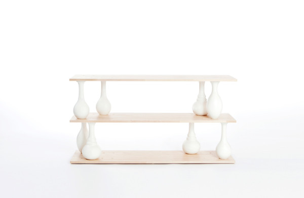 Vase Shelves by Bakery Studio in main home furnishings  Category