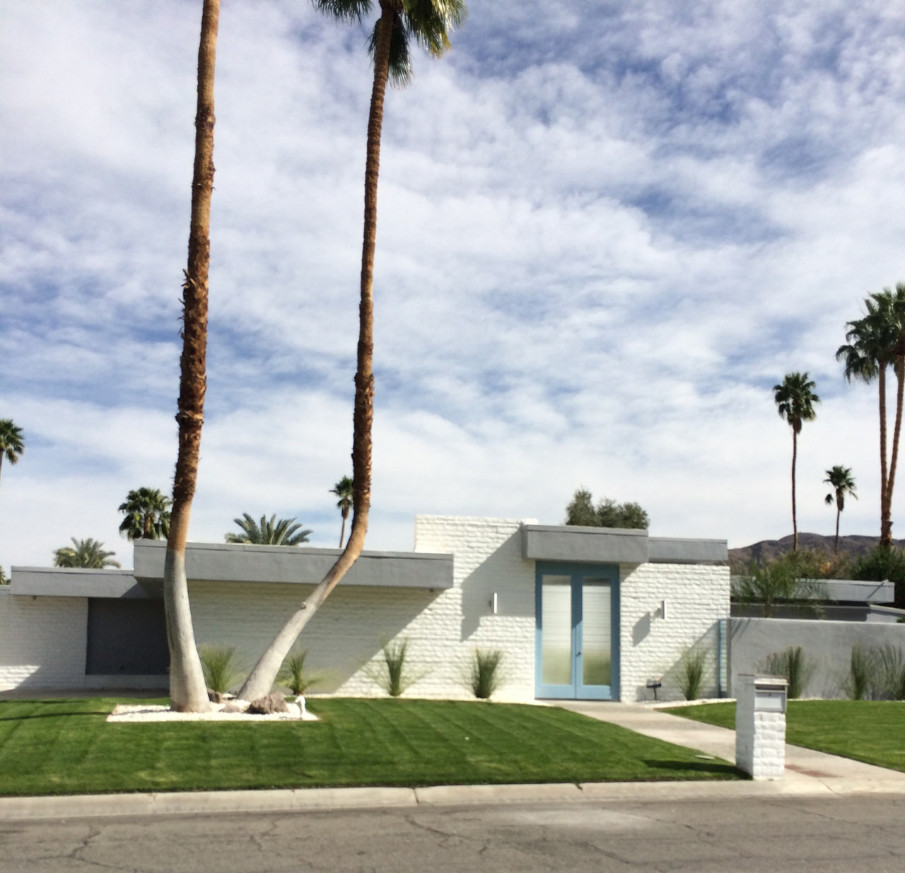 Modern in Palm Springs