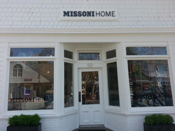 A Visit to MissoniHome Southampton in interior design Category