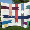 A quilt made by Eliza in 2010