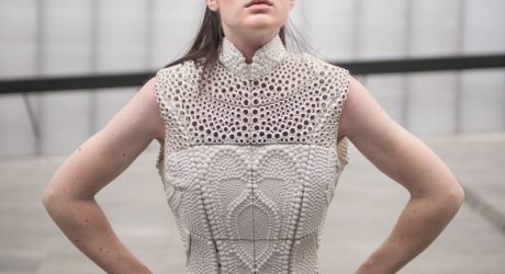 3D Printed Top Inspired By The Electrolysis of Water