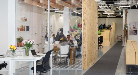 Dublin Offices of Airbnb Designed by Heneghan Peng