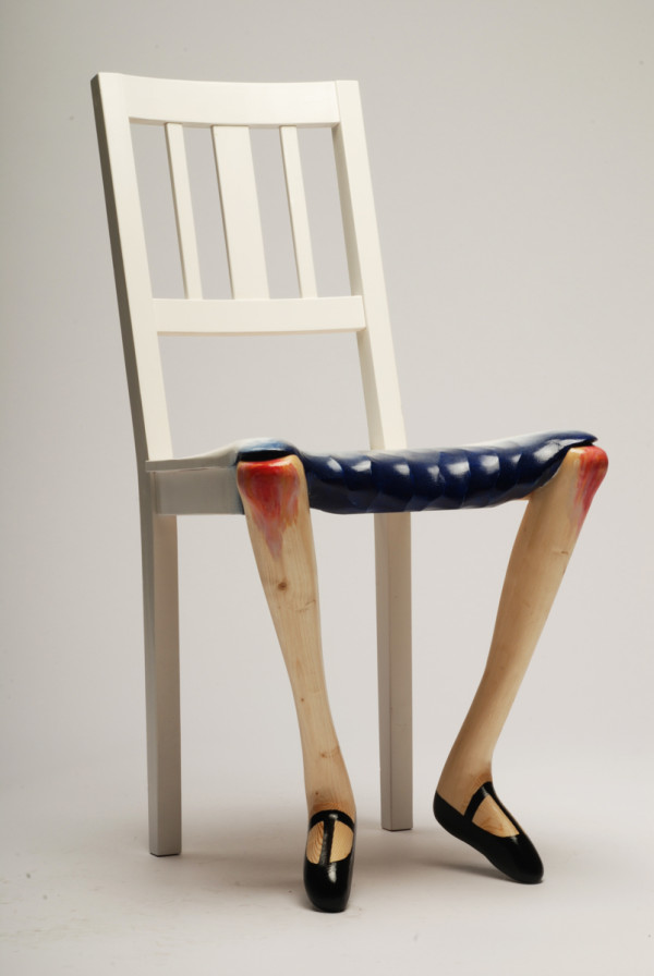 Sculptural Chairs Inspired by Art by Benjamin Nordsmark in main home furnishings art  Category