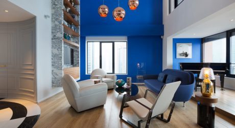 Blue Penthouse by Dariel Studio