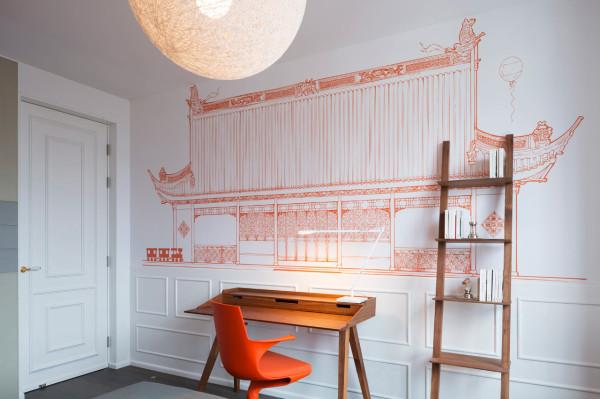 Blue-Penthouse-Dariel-Studio-11-orange-bed