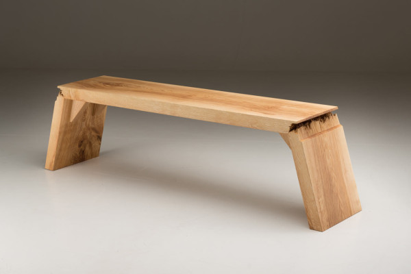 Wood Furniture Design broken: furniture that explores the defects in wood - design milk