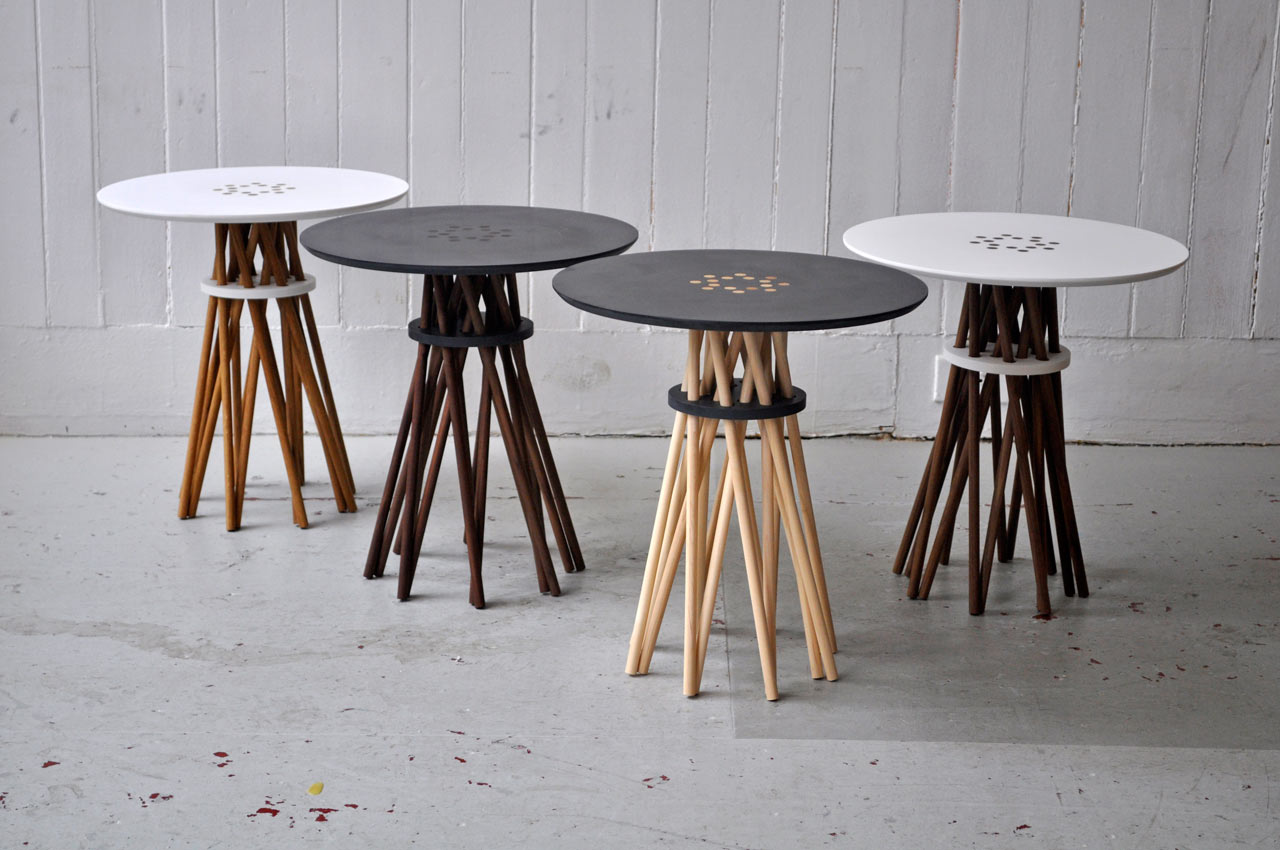 Bundle Side Table by Ampersand