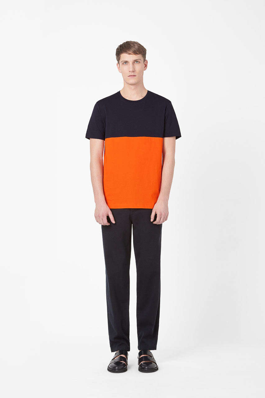 COS-HM-Clothing-7-Contrast-Panel-Tshirt