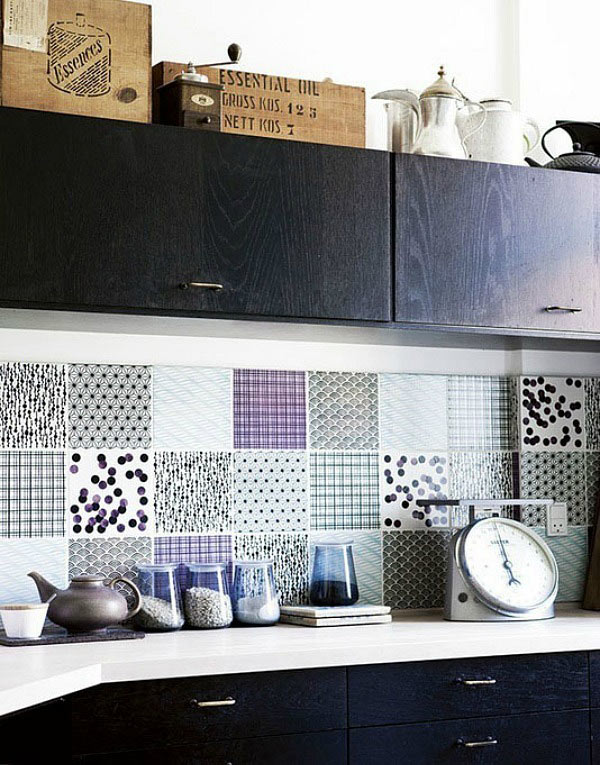 Creative Backsplash Ideas Part - 20: Photo By Tia Borgsmidt