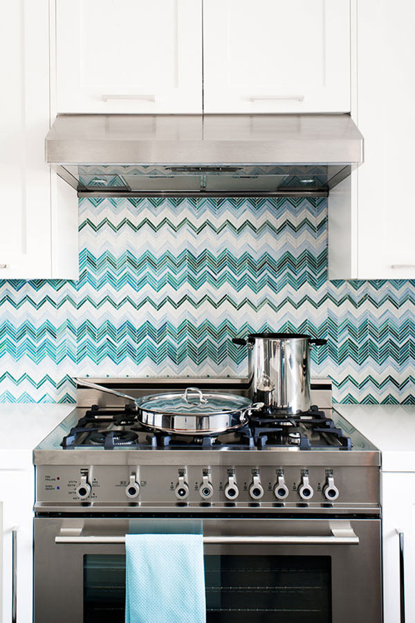12 Creative Kitchen Tile Backsplash Ideas Design Milk - Mosaic-backsplash-creative