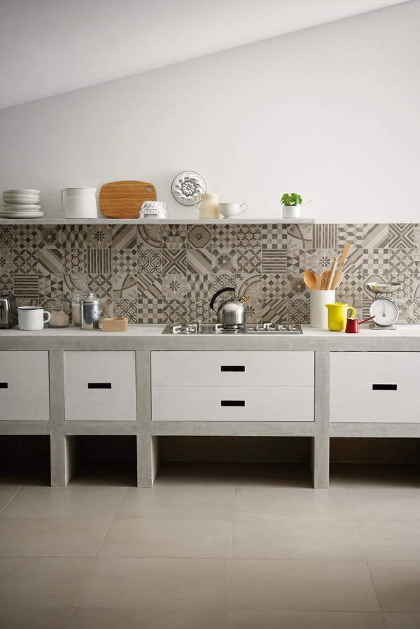 Kitchen Backsplash Ideas 2014 Part - 27: Creative-Kitchen-Backsplash-mosaic-Marazzi