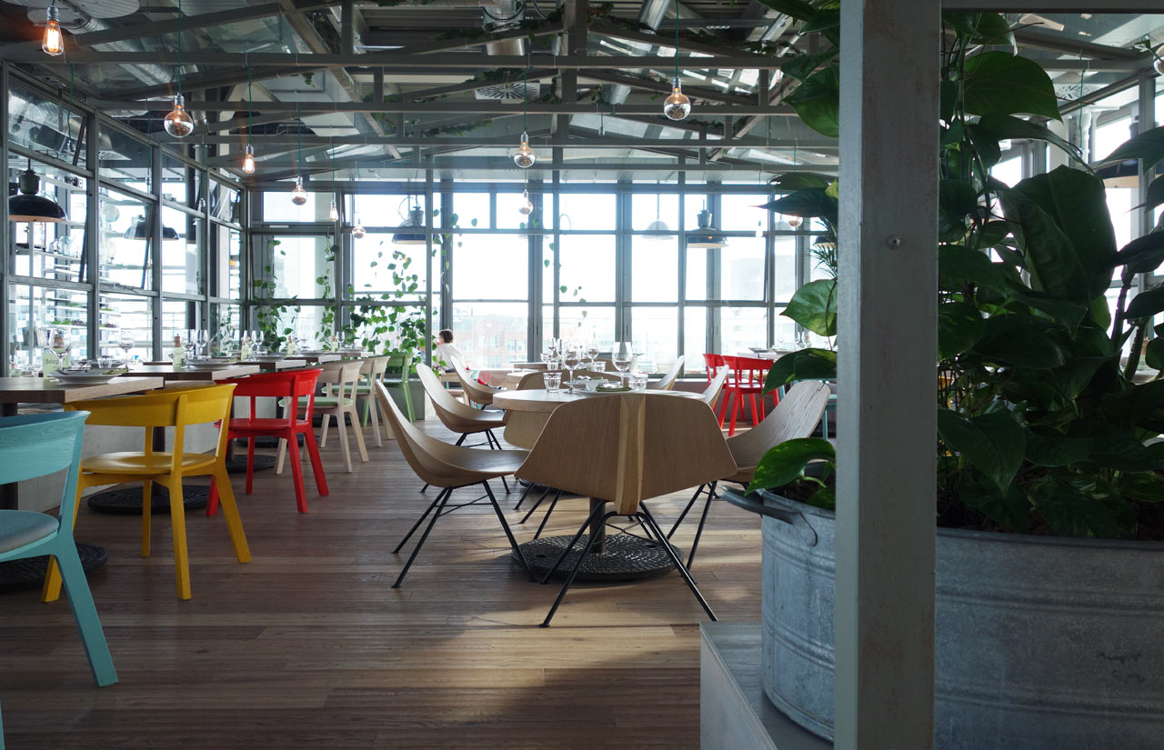Bikinihaus berlin restaurant