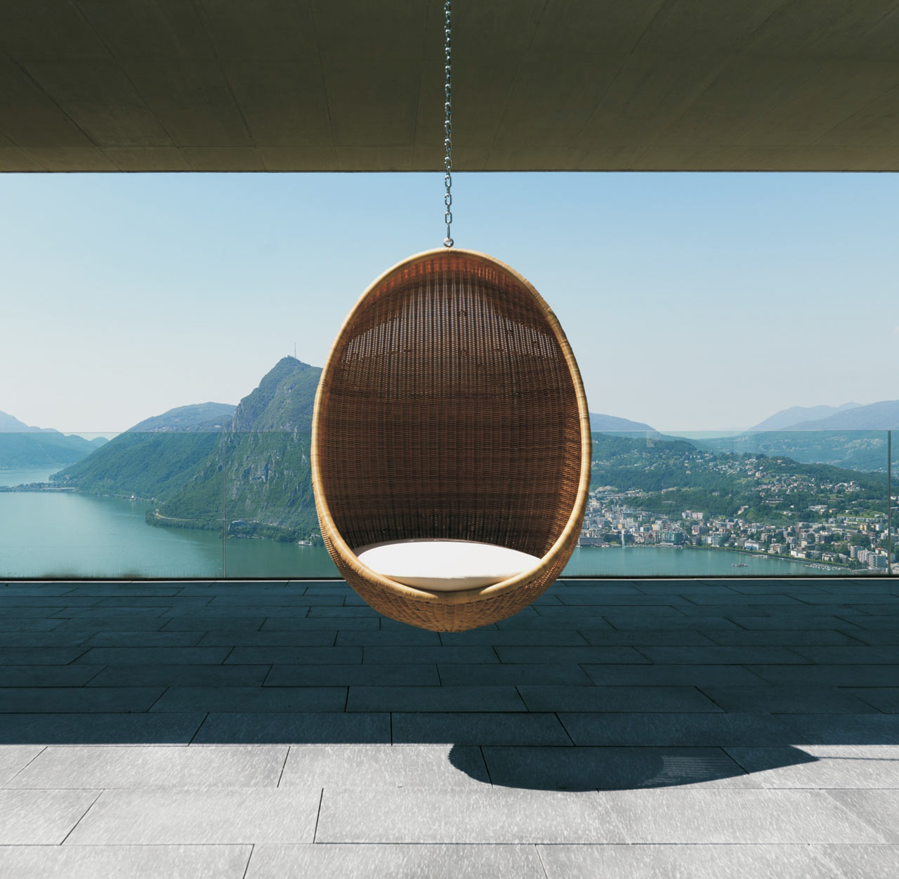 Modern Wicker Outdoor Egg Chair Design Milk