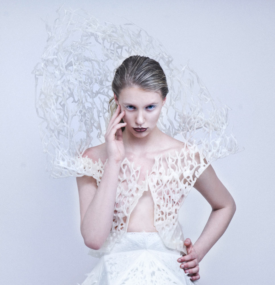 Francis Bitonti's 3D Printed Dress You Can Print at Home