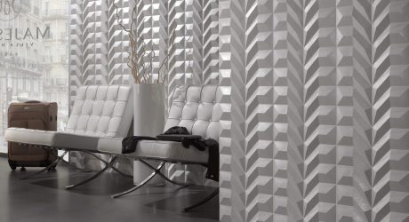 Adjustable Geometric Wall Coverings by Dsignio
